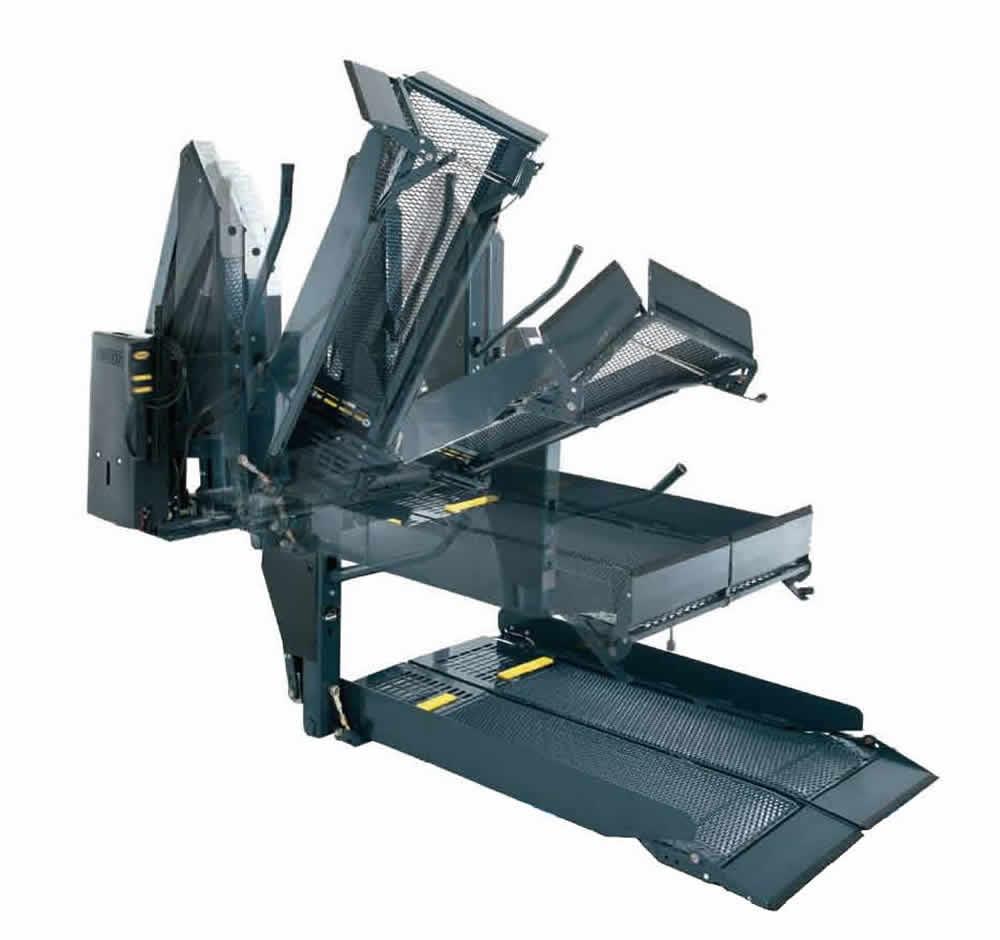 Movilidad sin l mites elevadores para sillas de ruedas for Plataforma para silla de ruedas