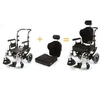Silla de ruedas manual Quickie® Iris™